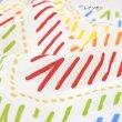 画像5: 【送料無料】カフェカーテン 【ベルグ】インテリア キッチン小窓 レインボー/ブルー s (5)