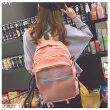 画像6: 可愛い リュック バッグ レディースバッグ おしゃれ 大容量 通学 通勤 旅行 韓国風デザイン  (6)
