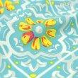 画像6: のれん リタ モロッコ調 タイル柄 暖簾 インテリア雑貨 間仕切り カフェ 店舗装飾 (6)