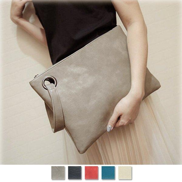 画像1: 新作 クラッチバッグ レディース 大きめ ハンドバッグ スクエアバッグ 鞄 (1)