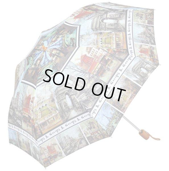 画像1: 【折りたたみ傘】ジョーンズ フランス 名画シリーズ  絵画  傘 雨具 (1)
