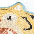画像6: マット がおー トラ クマ アニマルフェイスマット インテリア雑貨 フロアマット   (6)