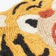 画像5: マット がおー トラ クマ アニマルフェイスマット インテリア雑貨 フロアマット   (5)