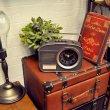 画像4: 【置時計】ラジオ型クロック アンティーク調 (4)