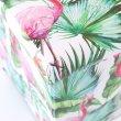 画像7: 収納BOXスツール トロピカル フラミンゴ オオハシ 鳥 ピンク 小物入れ おもちゃ箱 片付け インテリア イス チェア 耐荷重100kg (7)