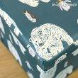画像16: 収納BOXスツール アニマル 動物 ゾウ ライオン シロクマ 小物入れ おもちゃ箱 インテリア 椅子 オットマン 耐荷重100kg (16)