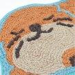 画像13: おねむりアニマル 玄関マット インテリア 子供部屋 フロアマット アザラシ ラッコ ペンギン カワウソ (13)