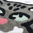 画像8: バズってるアニマルマット 玄関マット インテリア フェネック チベットスナギツネ マヌルネコ インスタ映え (8)