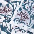 画像12: のれん ブロックプリント インド 伝統柄 暖簾 インテリア雑貨 間仕切り カフェ 店舗装飾 (12)