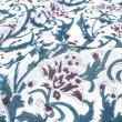 画像10: のれん ブロックプリント インド 伝統柄 暖簾 インテリア雑貨 間仕切り カフェ 店舗装飾 (10)