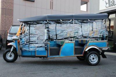 画像2: 【カタログ請求】【新車】トゥクトゥク 【ET-7】7人乗り TUKTUK 3輪タクシー タイ バンコク