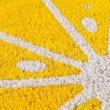 画像7: グレープフルーツ コイヤーマット  セミサークル型 玄関マット ベランダ インテリア雑貨  (7)