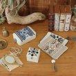 画像15: ビーズボックス L フォークロア 刺繍 アクセサリー入れ 小物入れ 腕時計 ギフトボックス (15)
